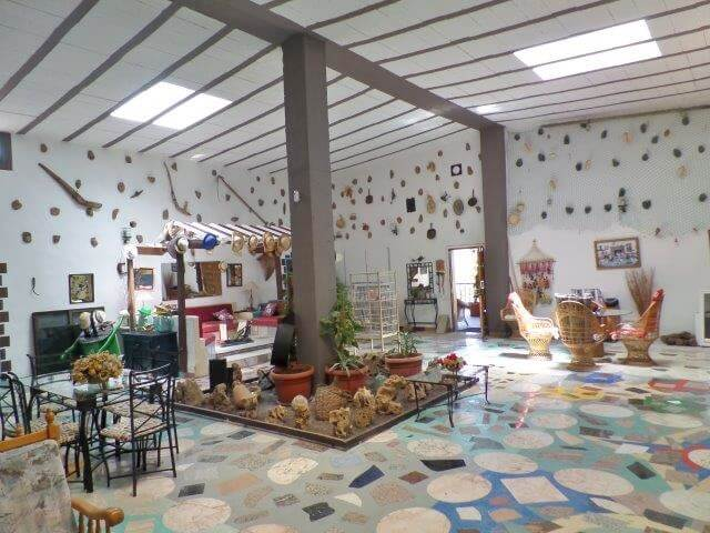 Las Playitas Fuerteventura Finca Wohnbereich