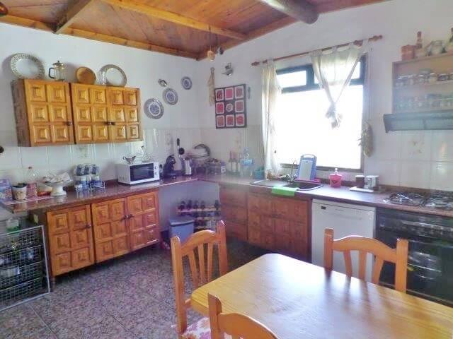 Las Playitas Fuerteventura Finca Küche
