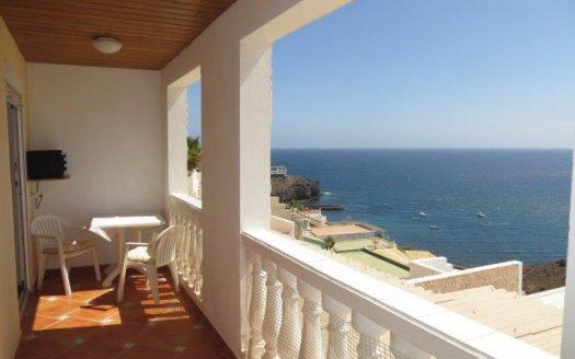 Apartment con vista al mar
